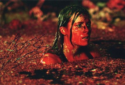 Shauna Macdonald, The Descent horror film, signed 12x8 inch photo.